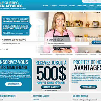 Création de site internet, SEO et marketing web - Infochic